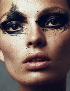 opaqueglitter: Narcisse Magazine #1 Fall/Winter 13.14 'Aqua', Carola Remer by Benjamin Vnuk