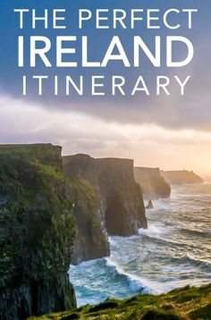 This is the perfect ireland itinerary for the first time visitor to the Emerald Isle. If you're planing to rent a car when you visit Ireland, this road trip itinerary will help you plan what you should see. Europe Travel Tips, Travel Guides, Places To Travel, Travel Destinations, Ireland Travel Guide, Travelling Europe, Travel Packing, Travel With Kids, Family Travel