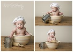 6 Month Boy Studio Session {Knoxville Oak Ridge Powell} | Sprouting Hearts Photography