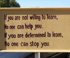 Be open to learning and there are no limits to how far you can go.