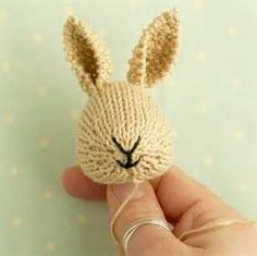 knitted sweater pattern for little cotton rabbits - - Yahoo Image Search Results