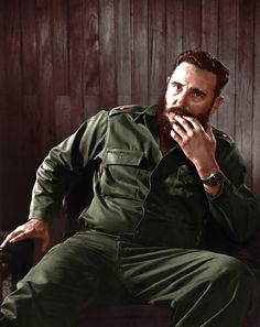 Fidel Castro, also notably wearing a Rolex GMT Master (ca. 1961)