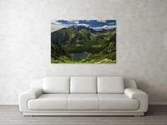 """Summer in Tatras Art Print by Ren Kuljovska. Our art prints are produced on acid-free papers using archival inks to guarantee that they last a lifetime without fading or loss of color. All art prints include a 1"""" white border around the image to allow for future framing and matting, if desired.  #wallart #artdeco #homedeco #homedecor #artprint #artprints #wallartideas #print #giftidea #giftideas #canvasprint  #tatras #slovakia #mountainromance Thing 1, Nature Artists, Nature Artwork, Wall Art For Sale, Great Artists, Colorful Interiors, Painted Rocks, Buy Art, Fine Art America"""