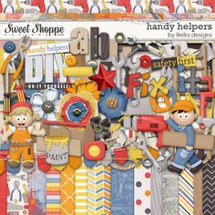 Handy Helpers by lliella designs