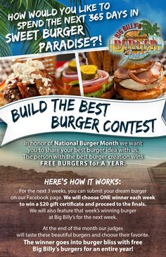 Best Chef, Good Burger, Burgers, Bands, Good Things, Sweet, Poster, Food, Hamburgers