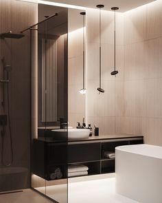 Bathroom decor, Bathroom decoration, Bathroom DIY and Crafts, Bathroom Interior design Bathroom Interior Design, Bathroom Styling, Decor Interior Design, Bad Inspiration, Bathroom Inspiration, Bathroom Ideas, Bathroom Organization, Bathroom Shelves, Bathroom Beadboard