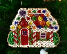 """""""Gingerbread Cottage"""" • ®Mill Hill"""