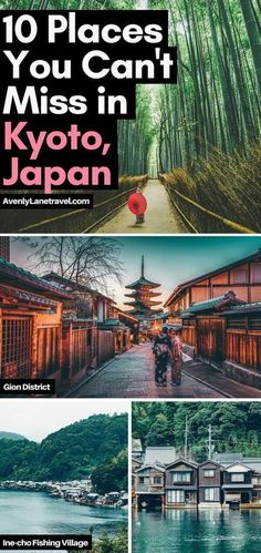 10 Best Things to do in Kyoto, Japan. One of the best towns in Japan. #Kyoto #Japan #Travel