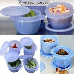 Tupperware Star Bowls Set Of 2Pcs 700Ml - Each. Organize your kitchen the Tupperware way