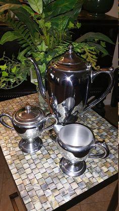 Forbes Silver Co. Old Sheffield Plate Coffee by AtticPhanatticsLLC