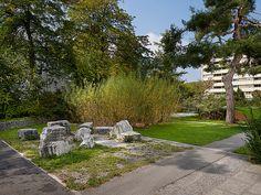 © extrā Landschaftsarchitekten - Wankdorf school , Bern, 2002 Bern, Sidewalk, Culture, School, Landscape, Side Walkway, Walkway, Walkways, Pavement