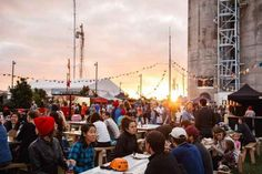 Play ball, watch a movie, and eat until your heart's content in the city's Silo Park.