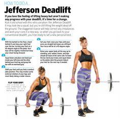 Jefferson deadlift