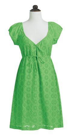 <3- Eyelet Dress