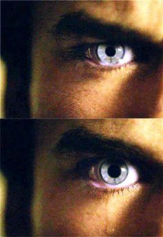 His eyes... even sad they are beautiful.