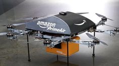 Amazon tests drone delivery through a program called PrimeAir.