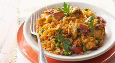 Recetas caseras de cocina: Arroz con pollo al estilo Cajun