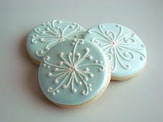 SugarBliss Cookies: SugarBliss Snowflakes