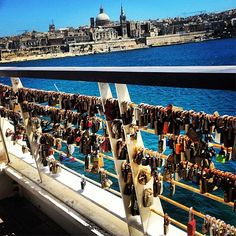 Tigne Point is the perfect romantic spot, have you been to see the 'love locks'? Thanks to @Brandon Meloche for sharing this photo with us! #malta #travel │ #VisitMalta visitmalta.com