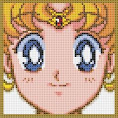 Sailor Moon Cross Stitch  (one for every senshi!)