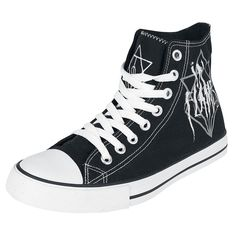 In Flames  Sneakers High  »Scratch Logo Jesterhead« | Buy now at EMP | More Band merch  Sneakers high  available online ✓ Unbeatable prices!