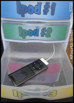 would be nice to make one abit better looking though. but still Great idea for small device storage - drill a hole in the back of each drawer to run the cord for charging. Would also be good storage for laptops and other electronics at home! Classroom Setting, Classroom Setup, Classroom Design, Music Classroom, School Classroom, Classroom Environment, Classroom Organisation, School Organization, Classroom Management