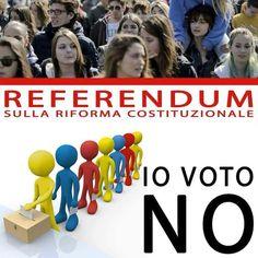 il popolo del blog,: votiamo no al referendum,passa parola, condividi,c...