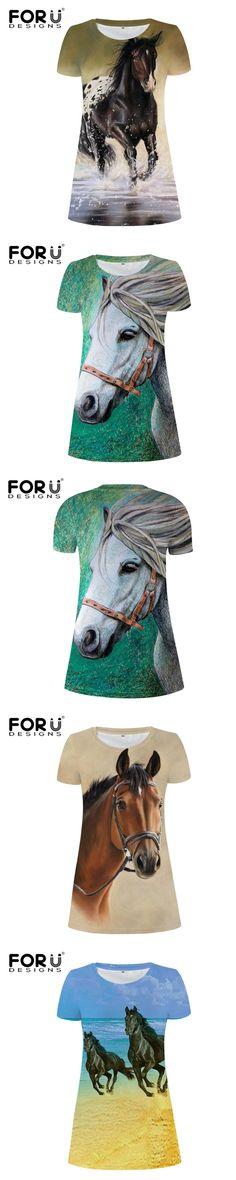 FORUDESIGNS crazy horse printing women's dresses,fashion girls short sleeves dress of women,casual mini tunic dresses vestidos