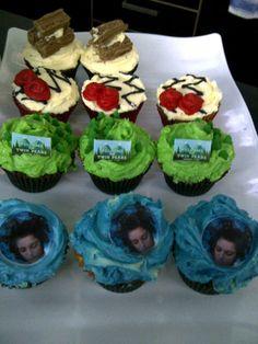 Twin Peaks cupcakes