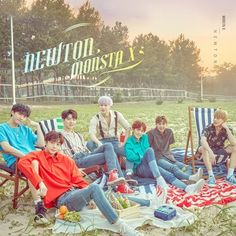 """(NEWS) MONSTA X to release 'Newton' today (27th) Source: Naver"""