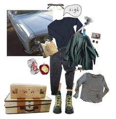 """""""Gone For Good"""" by uhhhhhlane on Polyvore featuring Current Mood, CASSETTE, Levi's, Prada, Zadig & Voltaire and Avon"""