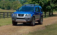 2012 Nissan Xterra Blue