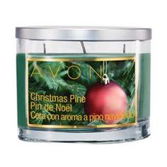 Christmas Pine Scented Candle