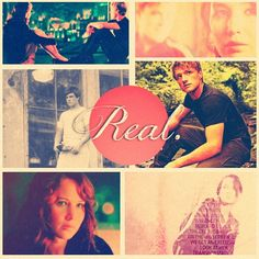 """""""You love me. Real or not real?""""  """"Real.""""    <3 <3 Hunger Games"""