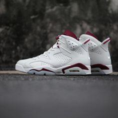 on sale 3f742 bfcd2 Instagram post by kickbackzny.com • Dec 18, 2015 at 1058pm UTC. Jordan 6  Maroon, Nike Air ...