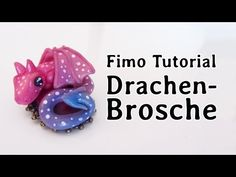 ▶ [Fimo-Tutorial] Drachen-Brosche - YouTube