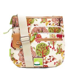 Loving this Forest Owl Camilla Crossbody Bag on #zulily! #zulilyfinds