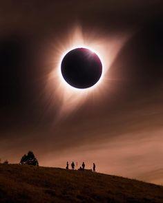 Solar Eclipse - Grand Teton National Park
