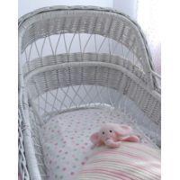 Bassinet Sheet Set #mamadoo #cot #bassinet #bedding