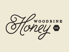 Woodbine Honey logo design - This is one of my fav's