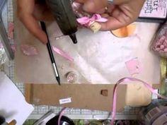 Shabby Chic Fairy Secrets Jar Tutorial - jennings644 - YouTube