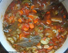 Crock Pot Homemade Vegetable Soup (Stove Top too)! Homemade Vegetable Soups, Veggie Soup, Soup Recipes, Cooking Recipes, Healthy Recipes, Cooking Chef, Detox Recipes, Quick Recipes, Delicious Recipes