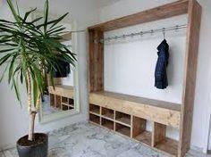 Afbeeldingsresultaat voor schoenenkast steigerhout