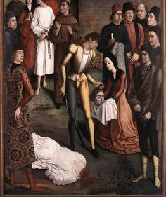 BOUTS Dieric or Diederic - Flemish (Louvain c.1415 -1475) - Justice of Emporer Otto,1470-5