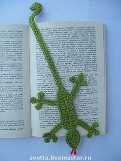 crocheted bookmarks Más Más