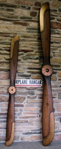 8 Foot 1917 Replica Antique Airplane Propeller 'Second' | A Simpler Time