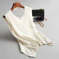 Yeeshan Sleeveless Vest Sweater for Women O-Neck Jersey Mujer Invierno Black Camel White Knitwear Blusa Inverno Femin Women 2017