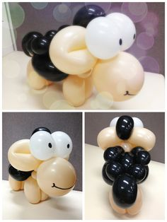 Sheep, Balloons and Twists on Pinterest