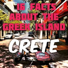Mud Rain?! Yup! Throwing your TP in a tin can next to you, instead of the T?! Yup! Here are 16 facts about the Greek Island, Crete!  http://www.pureorganicworld.com/first-impressions-of-crete/
