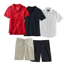 Chaps School Uniform Mix & Match Coordinates - Boys 4-7 Everything you need at just one store, love not running around everywhere! #PCandKohlsBTS